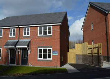 Thumbnail 3 bedroom semi-detached house for sale in Daisy Bank Drive, St Georges, Telford, Shropshire.