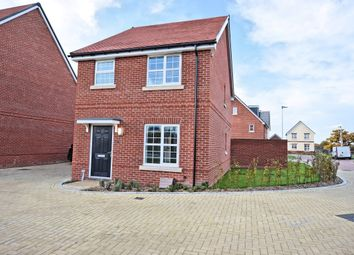 Thumbnail 3 bed detached house to rent in Hayes Drive, Three Mile Cross, Reading
