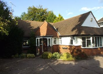 Thumbnail 4 bed detached bungalow to rent in Chiltern Road, Sutton