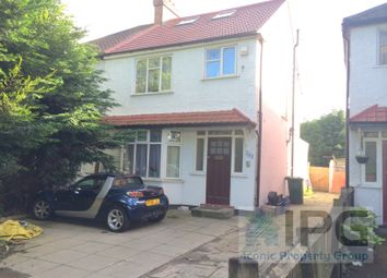 Thumbnail 3 bed flat to rent in Watford Way, London