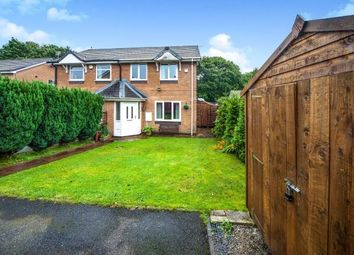 Thumbnail 3 bed semi-detached house for sale in High Close, Lowerhouse, Burnley, Lancashire