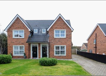 Thumbnail 3 bed semi-detached house for sale in Regency Park, Newtownards