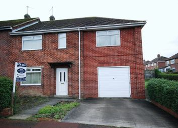 Thumbnail 4 bed semi-detached house for sale in Garden House Estate, Ryton