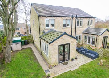 Thumbnail 3 bed semi-detached house for sale in Stocks Drive, Shepley, Huddersfield