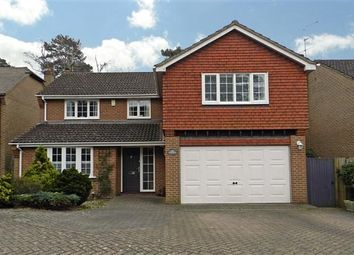 Thumbnail 5 bed detached house for sale in Kingsley Close, Crowthorne