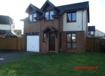 Thumbnail 4 bedroom detached house to rent in Cawder View, Cumbernauld