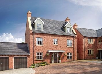 Thumbnail 5 bed detached house for sale in Manor View Gardens, Overseal, Swadlincote