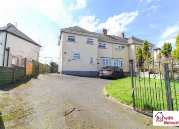 Thumbnail 3 bed semi-detached house to rent in Hunter Road, Cannock