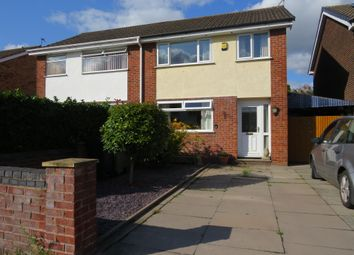 Thumbnail 3 bed semi-detached house for sale in Shelley Avenue, Wincham, Northwich