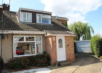 Thumbnail 4 bedroom semi-detached house for sale in Arnsby Crescent, Moulton, Northampton