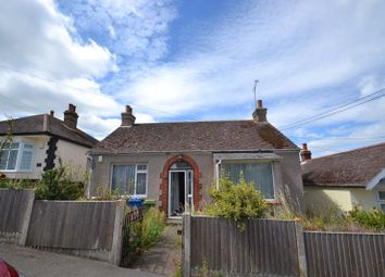 Thumbnail 2 bed detached bungalow for sale in Southdown Road, Minster On Sea, Sheerness