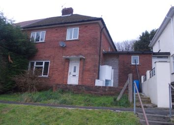 Thumbnail 3 bed semi-detached house to rent in Heol Tyle Du, Treorchy, Rhondda, Cynon, Taff.