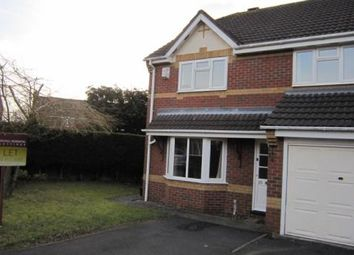 Thumbnail 3 bed semi-detached house to rent in Oakhall Drive, Solihull