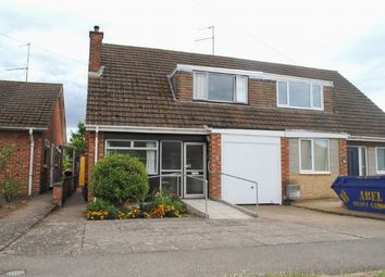 Thumbnail 3 bed semi-detached house for sale in Sandhills Road, Kingsthorpe, Northampton