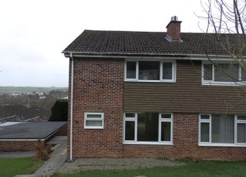 Thumbnail 3 bed semi-detached house to rent in Longwood Close, Plympton, Plymouth