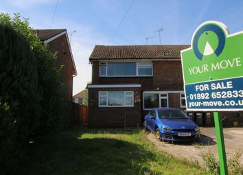 Thumbnail 3 bedroom semi-detached house for sale in Springfield Close, Crowborough
