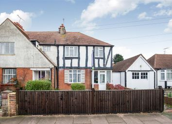 Thumbnail 3 bed semi-detached house for sale in Beaumont Road, Broadwater, Worthing