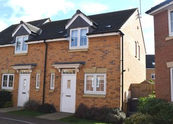 Thumbnail 2 bedroom end terrace house for sale in Skye Close, Orton Northgate, Peterborough