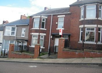 Thumbnail 3 bed flat to rent in Howard Street, Gateshead
