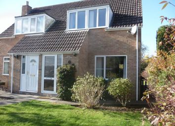 Thumbnail 3 bed semi-detached house to rent in Fairways, Wells