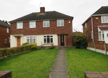Thumbnail 2 bed semi-detached house for sale in Coronation Road, Wednesbury