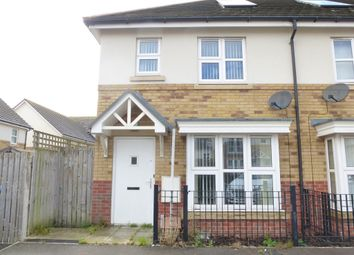 Thumbnail 2 bedroom semi-detached house for sale in Streatham Way, Hull