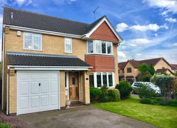 Thumbnail 4 bed detached house to rent in Charles Way, Whetstone, Leicester