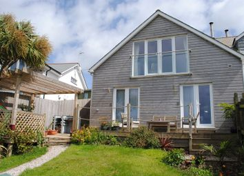 Thumbnail 4 bed semi-detached house for sale in Trevalga Close, Perranporth