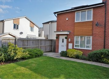 Thumbnail 2 bed end terrace house for sale in Hattersley Way, Leicester