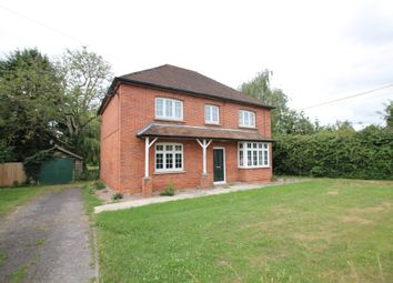 Thumbnail 4 bed detached house to rent in Cutbush Lane, Shinfield, Reading