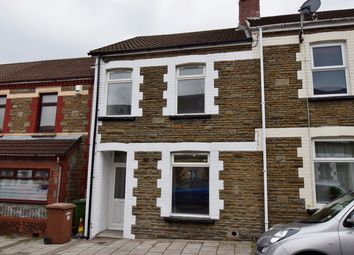 Thumbnail 3 bed terraced house for sale in Goodrich Street, Caerphilly