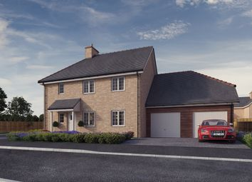 Thumbnail 5 bed detached house for sale in Plot 1, 'the Chancellors', Bedford Road, Moggerhanger