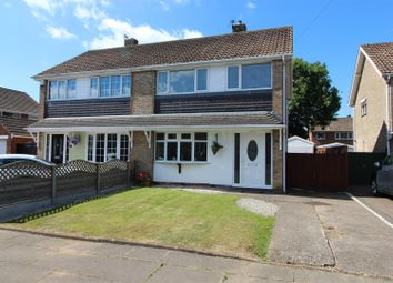 Thumbnail 3 bed semi-detached house for sale in Ravenhill Close, Cleethorpes