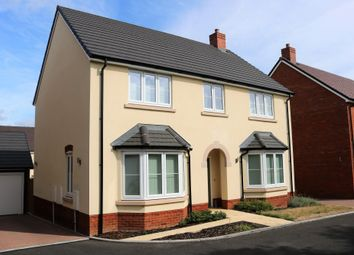 Thumbnail 4 bed detached house to rent in Millway Furlong, Haddenham, Aylesbury