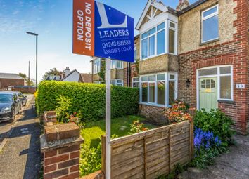 Thumbnail 3 bed semi-detached house to rent in The Crescent, Southbourne, Emsworth