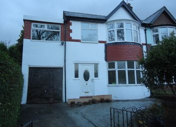 Thumbnail 4 bed semi-detached house for sale in Crumpsall Lane, Crumpsall, Manchester