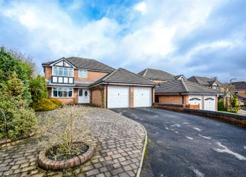 Thumbnail 4 bed detached house for sale in Merton Grove, Chorley