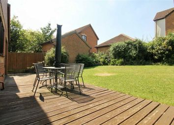 Thumbnail 4 bed detached house for sale in Egerton Gate, Shenley Brook End, Milton Keynes