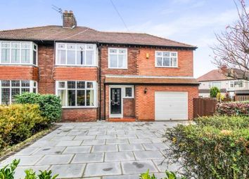 Thumbnail 5 bed semi-detached house for sale in Charmalue Avenue, Crosby, Liverpool, Merseyside