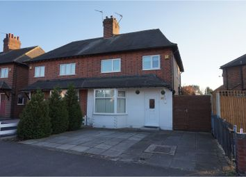 Thumbnail 3 bed semi-detached house for sale in Derby Road, Loughborough