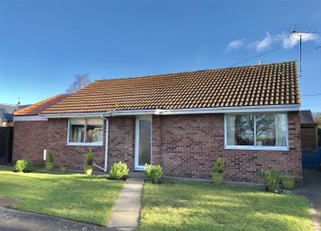 Thumbnail 2 bed detached bungalow for sale in Gas Walk, Dickmans Lane, Harby, Melton Mowbray
