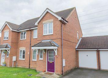 Thumbnail 3 bed semi-detached house to rent in Lodge Way, Irthlingborough, Wellingborough