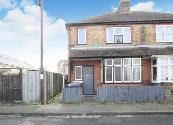 Thumbnail 3 bed semi-detached house for sale in Kent Street, Whitstable