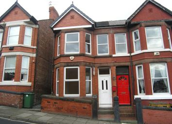 Thumbnail 3 bed semi-detached house to rent in Derwent Road, Prenton, Wirral