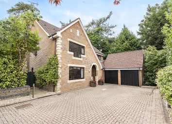 Thumbnail 4 bed detached house for sale in The Woods, Radlett