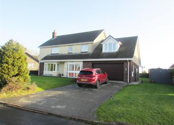 Thumbnail 4 bed detached house for sale in Quarry Park, Ludchurch, Narberth