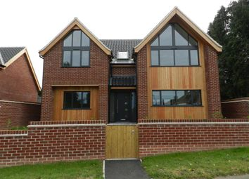 Thumbnail 4 bedroom detached house for sale in Orchard Close, Norwich Road, Fakenham