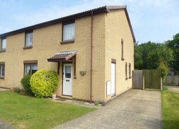 Thumbnail 3 bedroom semi-detached house for sale in Wacker Field Road, Rendlesham, Woodbridge