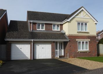 Thumbnail 4 bed detached house for sale in Magnis Close, Credenhill, Hereford