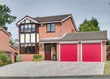 Thumbnail 4 bed detached house for sale in Jordans Close, Crabbs Cross, Redditch